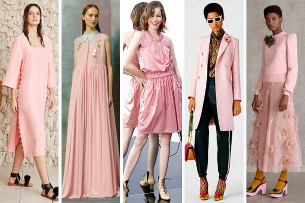 Картинки по запросу цвета в моде 2018