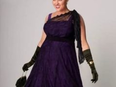 Красивое платье, которое стройнит даму