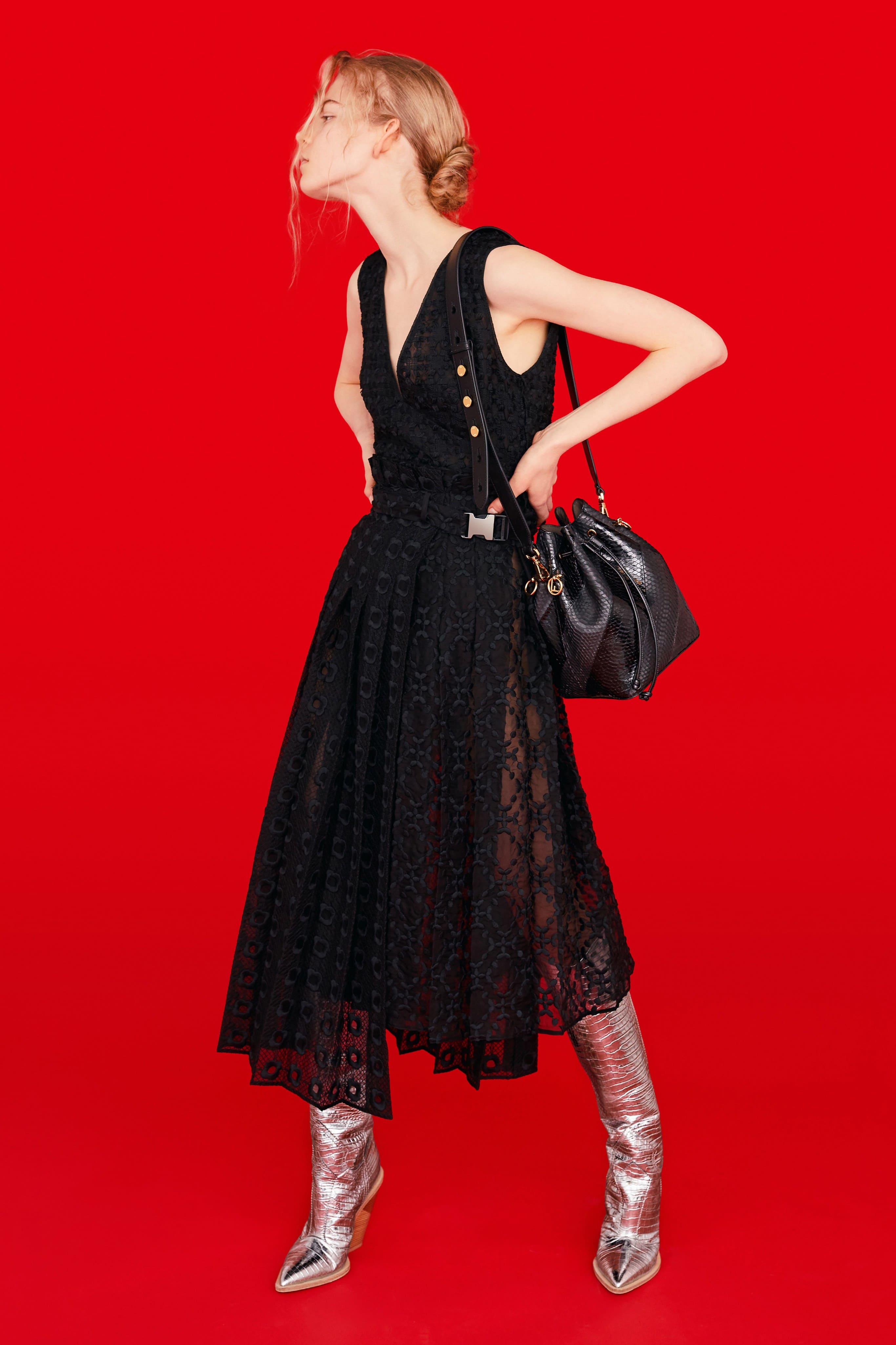 Обувь на платформе в коллекции Fendi