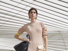 Романтичное платье в круизном стиле от sportmax