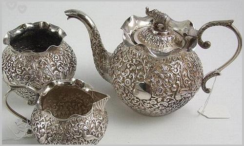 Набор с серебряным кувшином