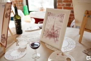 Подарить женщине на день рождения живопись вином оригинально