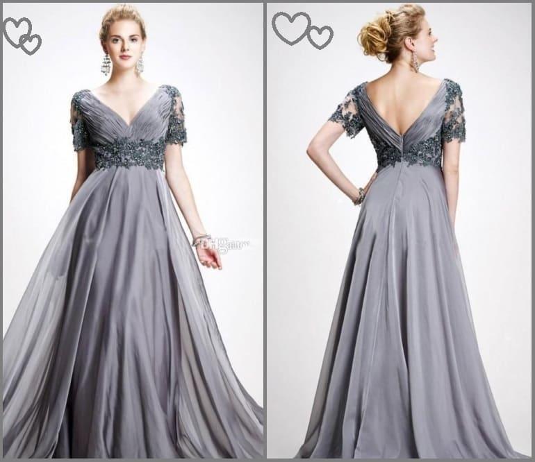 Платье для невесты на серебряную свадьбу