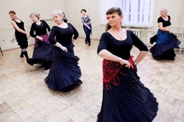 Танцы для дам за 50