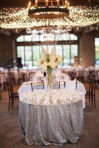 Украшение стола на 25 лет свадьбы