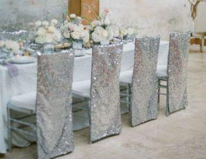 Подготовка банкетного зала на 25 лет свадьбы