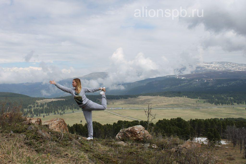 Йога в горах в подарок