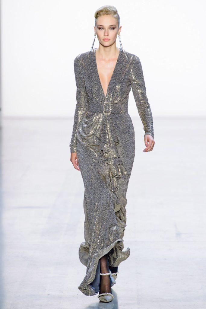 Badgley Mischka платье эпохи джаз