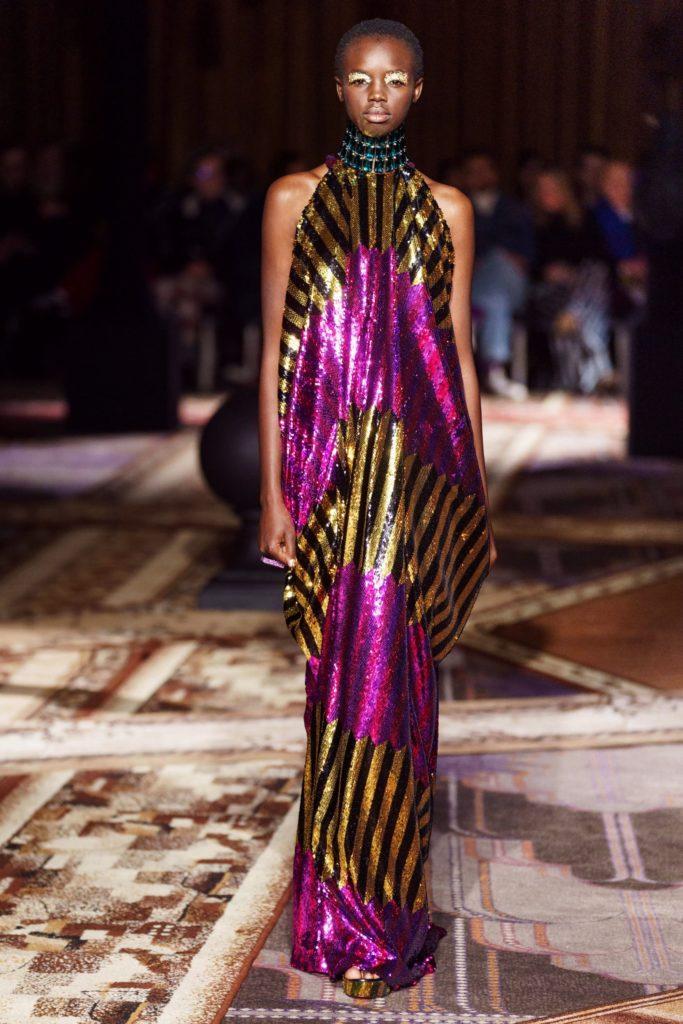 Halpern платье нарядное блестящее