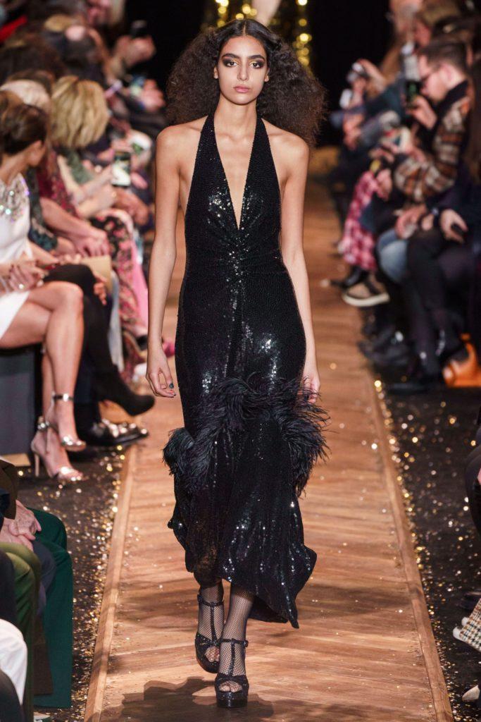 Michael Kors женственное черное платье