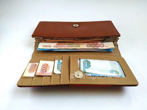 Портмоне с денежками