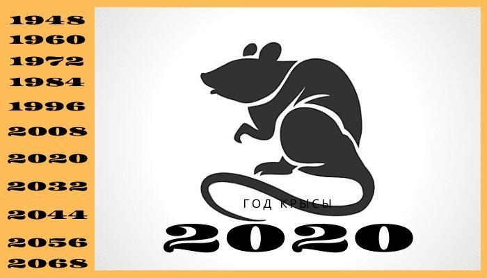 Знак зодиака крыса