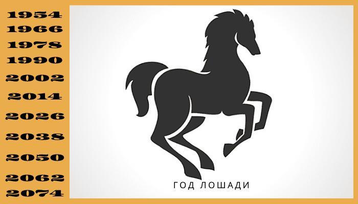 Год лошади по гороскопу