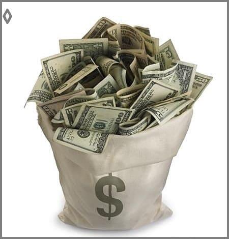 Мешок с деньгами на свадьбу