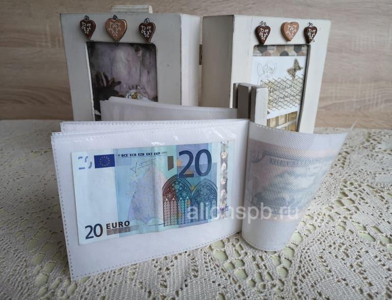 Подарить деньги на свадьбу в шкатулке