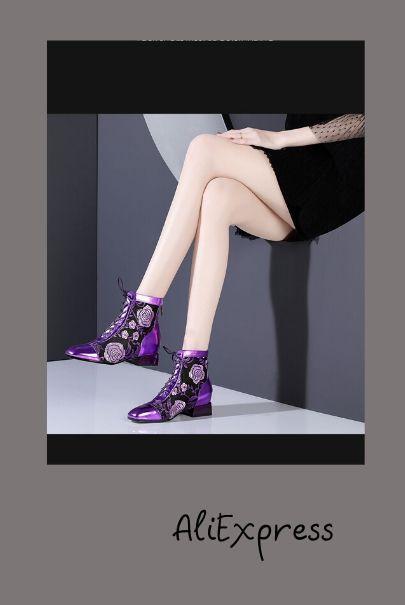 модные ботинки для женщины