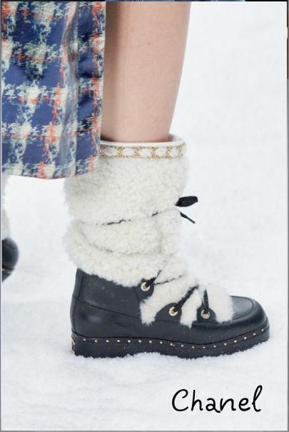 Зимние модные сапоги