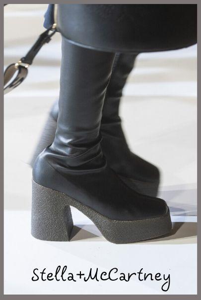 модные сапоги-чулки на платформе