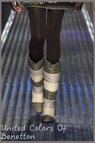 Модные сапоги-дутики